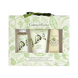 Crabtree and Evelyn Avocado Olive and Basil Little Luxuries