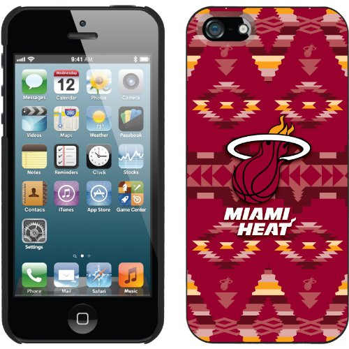 Special Sale Miami Heat - Tribal Print design on a Black iPhone 5s / 5 Thinshield Snap-On Case by Coveroo