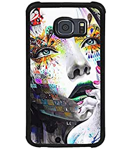 PRINTSWAG GIRL ART Designer Back Cover Case for SAMSUNG GALAXY S6