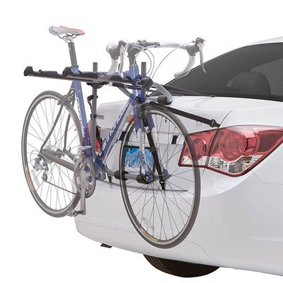 LT Sport Bicycle Rack Holder for 4-Door Sedan Rear Trunk Mount 3-Bike Mounting Carrier
