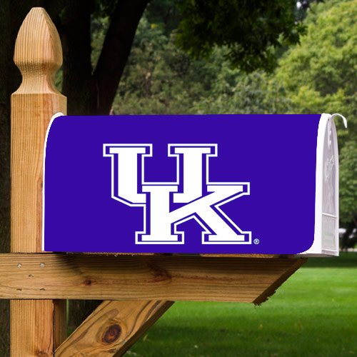 NCAA Kentucky Wildcats Royal Blue Magnetic Logo Mailbox Cover - at Amazon.com