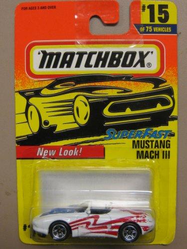 Matchbox Super Fast Mustang Mach3 #15-75 - 1