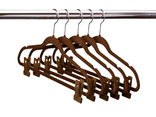Very Cheap Hangers Ultra Slim Velvet Suit Hangers W Pant