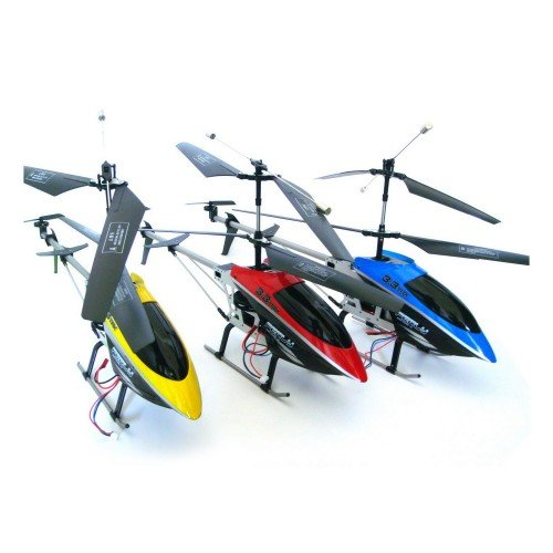 Electric Large Size Metal Frame FERLY 3.5CH GYRO RTF RC Helicopter (Colors May Vary)