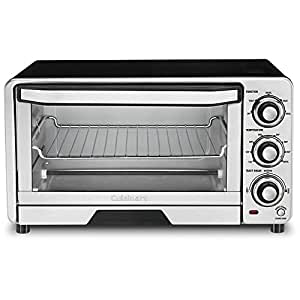 Toaster Oven Broiler Finish Stainless Steel