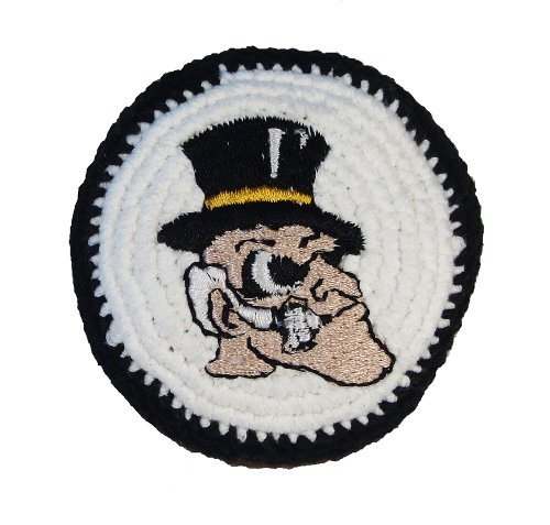Hacky Sack - College Logo WAKE FOREST Design - 1
