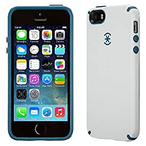 Speck CandyShell Case for iPhone 5/5S - White/Deep Sea Blue SPK-A2675