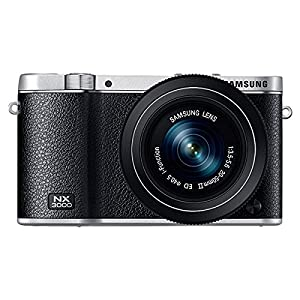 Samsung NX3000 Wireless Smart 20.3MP Mirrorless Digital Camera with 20-50mm Compact Zoom and Flash  (Black)