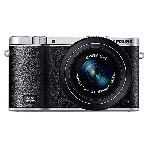 Great Features Of Samsung NX3000 Wireless Smart 20.3MP Mirrorless Digital Camera with 20-50mm Compac...