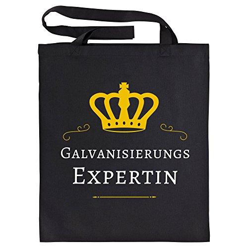 baumwolltasche-galvanisierungs-expertin-schwarz