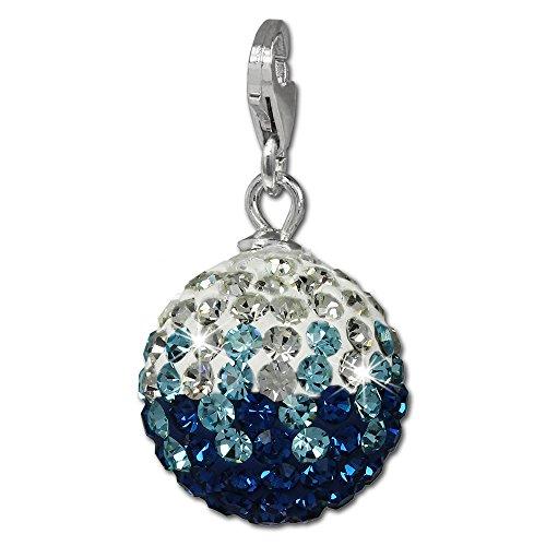 silberdream-charm-dijes-con-elementos-de-swarovski-bola-azul-ice-gradiente-cierre-de-mosqueton-925-1