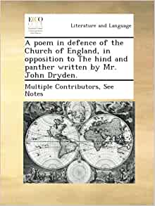 poem in defence of the Church of England, in opposition to The hind