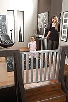 Munchkin Loft Aluminum Infant Safety Gate, Silver from Munchkin