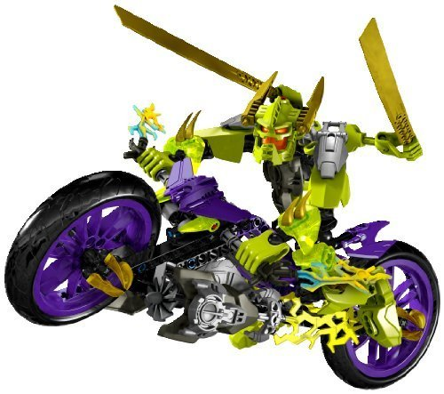 lego-hero-factory-green-speeda-demon-w-motorcycle-motor-bike-6231-by-lego
