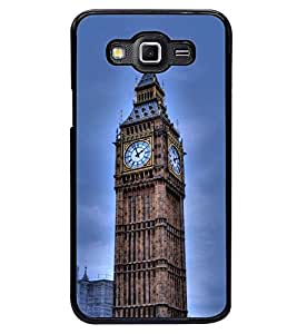 Printvisa Big Ben Clock In London Back Case Cover for Samsung Galaxy Grand Max G720