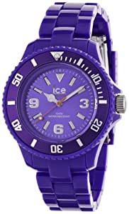 Ice-Watch Women's Quartz Watch with Purple Dial Analogue Display and Purple Plastic or PU Bracelet SD.PE.S.P.12