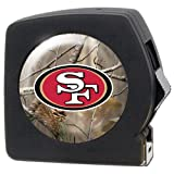 NFL San Francisco 49ers Open Field 25' Tape Measure