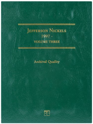 Littleton LCF26 1997-2008 Jefferson Nickel Folder, Volume 3