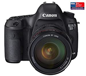 CANON Canon EOS 5D Mark III - SLR Digital camera - + EF 24-105mm IS lens