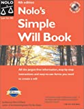 img - for Nolo's Simple Will Book (Nolo's Simple Will Book, 4th ed) book / textbook / text book