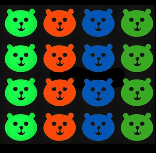 Cartoon Cute Bear Luminous Fluorescent Stickers Wall Stickers