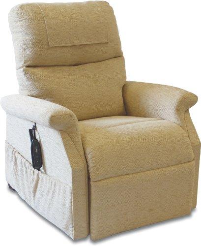 Classic Electric Riser Recliner Chair in Herringbone Oyster