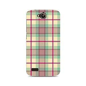 Ebby Checks Love Premium Printed Case For Huawei Honor Holly