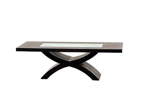 51 Rectangular Coffee Table in Dark Walnut By Diamond