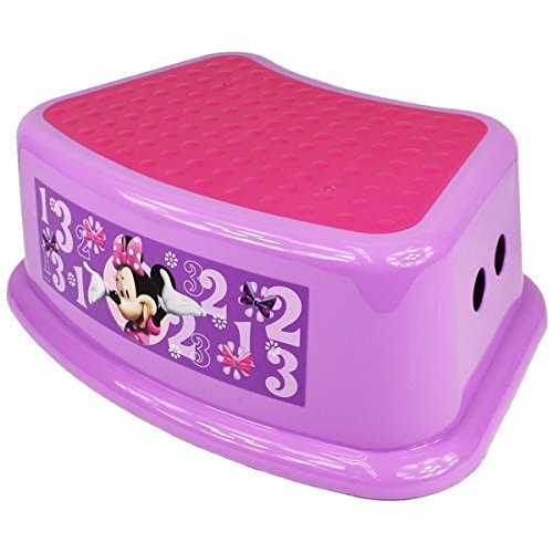 Disney mickey mouse friends minnie mouse step stool new free shipping ebay - Mickey mouse stool ...