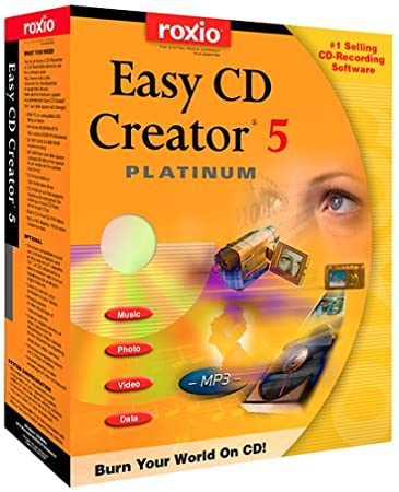 Easy CD Creator 5 Platinum [Old Version]