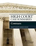 High Court Case Summaries on Contracts, Keyed to Farnsworth