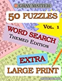 img - for EXTRA LARGE PRINT Word Search Puzzles (GRAY MATTER EXTRA LARGE PRINT) (Volume 1) book / textbook / text book
