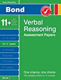 J M Bond Bond Verbal Reasoning Assessment Papers 10-11+ years Book 1