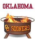 Patina Products F218,  30 Inch University of Oklahoma Fire Pit