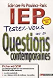 echange, troc Paul Guilin - Testez-vous sur les Questions contemporaines : IEP Sciences-Po Province-Paris