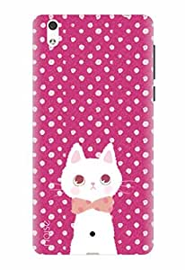 Noise Designer Printed Case / Cover for Lyf Water 1 / Patterns & Ethnic / Cat Design
