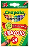 Crayola Crayons, 24 count (52-3024)