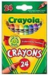 Crayola Crayons, 24 count (52-3024)