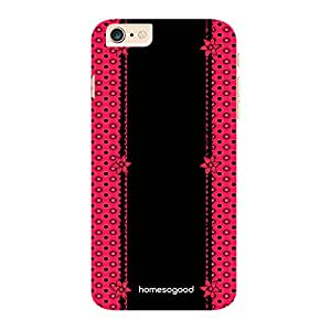 HomeSoGood Beautiful Girly Cloth Black 3D Mobile Case For iPhone 6 Plus (Back Cover)
