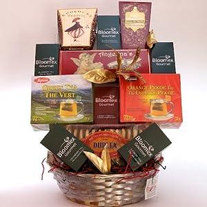 Deluxe Gourmet Tea Gift Basket