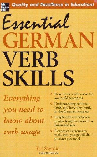 Essential German Verb Skills
