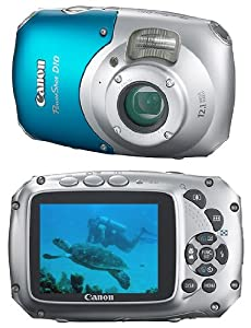 Canon PowerShot D10 Digitalkamera (12 Megapixel, 3-fach opt. Zoom, 6,4 cm (2,5 Zoll) Display, 10m wasserdicht)