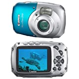 "Canon Power Shot D10 Appareil photo compact num�rique 12,1 Mpix Zoom Optique 3x Ecran LCD 2,5"" Etanche et anti-chocpar Canon"