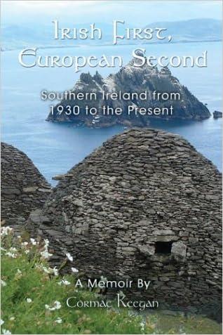Irish First, European Second written by Cormac Keegan
