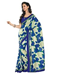 Cbazaar Art Dupion Silk Saree