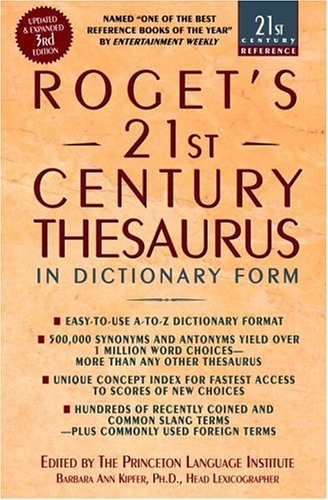rogets-21st-century-thesaurus-updated-and-expanded-3rd-edition-in-dictionary-form