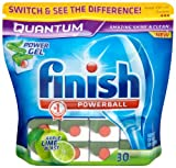 Finish Quantum Apple and Lime Blast 2 x Pack of 30 (60 Dishwasher Tablets)