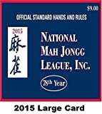 You can now get it here - the one and only National Mah Jongg League official 2014 Hands & Rules Scorecard, just released on April 4, 2014 in easy to read large print. Now in its 77th year, the National Mah Jongg League is the central authority on mahjong rules and scoring in the United States. For American mahjong players getting the new mahjong scorecard is a yearly ritual that keeps the game fresh. If you play mahjong with American rules, this is the one and only scorecard to have!