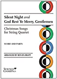 img - for Silent Night and God Rest Ye Merry, Gentlemen: Christmas Songs for String Quartet Sheet Music (String Letter Publishing) (Strings) book / textbook / text book