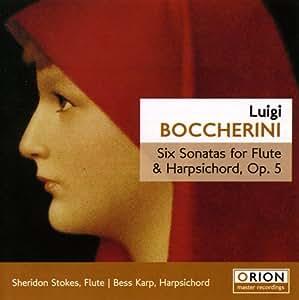 Boccherini: Six Sonatas for Flute & Harpsichord Op. 5